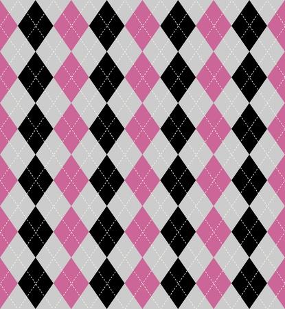 arlecchino: Seamless piastrelle di un pattern di stile argyle