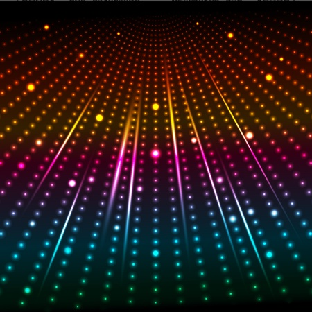 glowing lights: Abstract background of coloured glowing lights