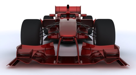 3d render of a formula one racing car photo
