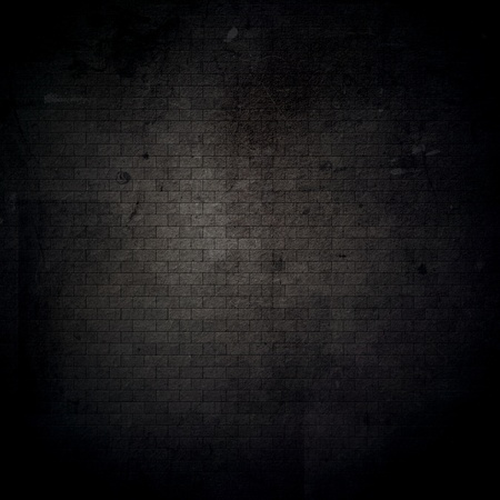 Detailed grunge brick wall background with scratches and stains