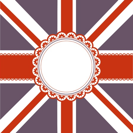 Union Jack Flag background - ideal for the Queens Jubilee photo