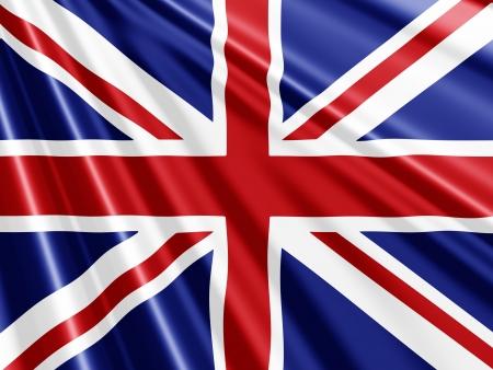Briten: Union Jack-Flagge Hintergrund - ideal f�r den Queens Jubilee Lizenzfreie Bilder