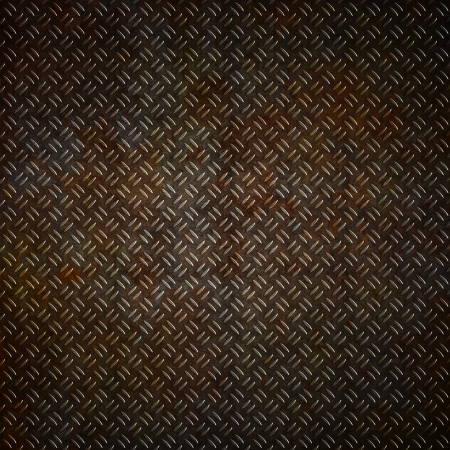 Metal plate background with a grunge rust effect photo