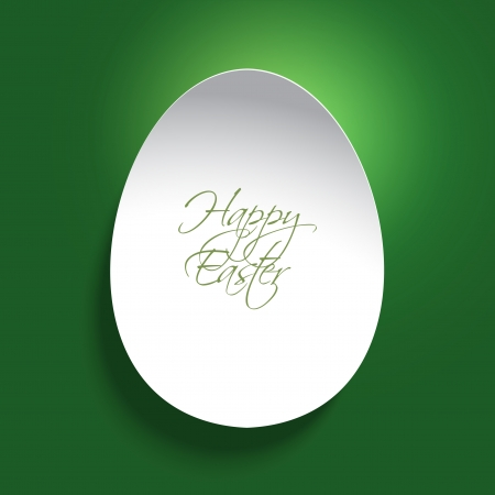 egg shaped: Easter background with an egg shaped design and shadows