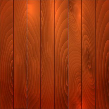 Illustration of a rich coloured wooden background illustration