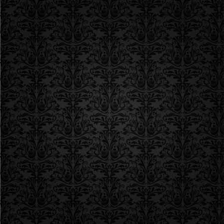 Seamless tiled background of a Damask pattern photo