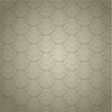 Vintage styled damask patterned background photo
