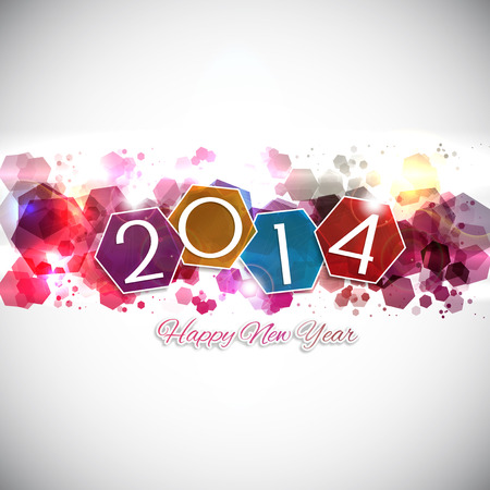 Abstract background for the Happy New Year