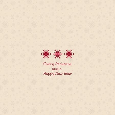 simplistic: Simplistic Christmas with snowflake design