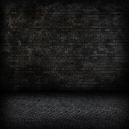 dark room: Grunge style image of a dark room interior