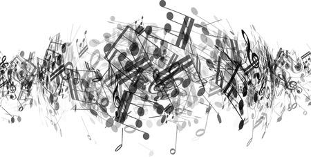 pentagrama musical: Resumen de antecedentes con la música toma nota de Foto de archivo