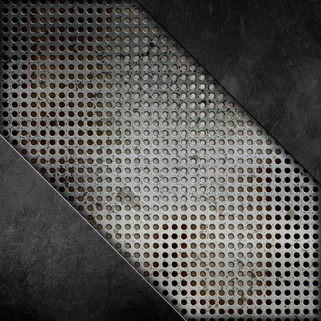 dint: Abstract background with a grunge metal effect