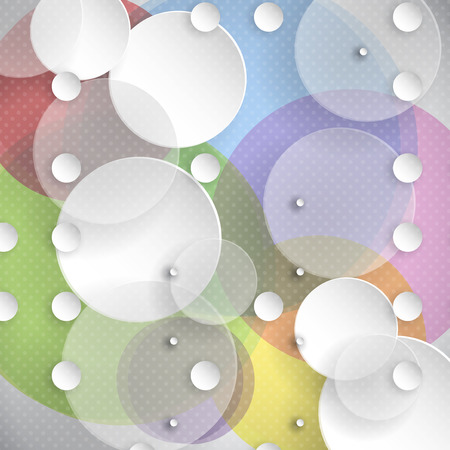Abstract background with a circles design photo