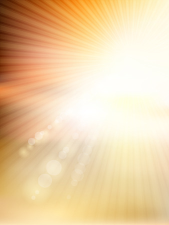 Abstract with sunny design Stock Photo