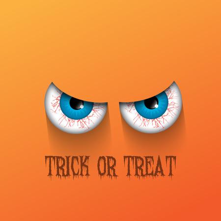 b�se augen: Spooky Halloween Hintergrund mit b�sen Augen Lizenzfreie Bilder