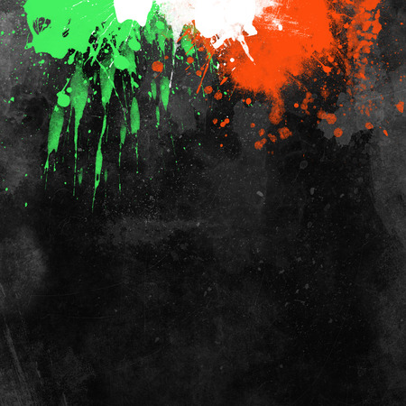 Grunge background with splats and drips Фото со стока - 32759559