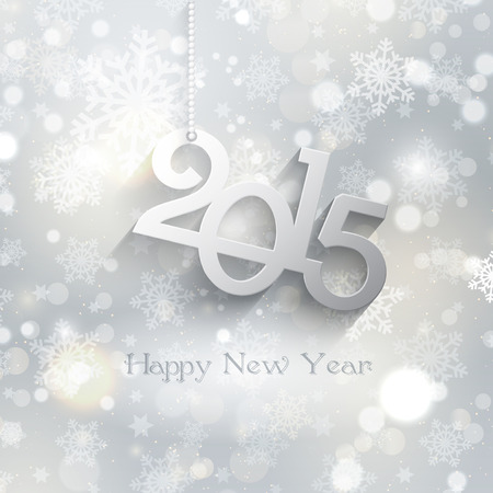 decorative background: Decorative background for a Happy new year