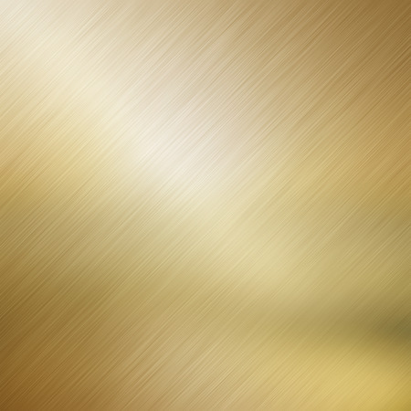 Metallic background with a gold brushed metal effect