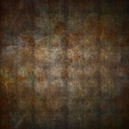 diamond background: Metal plate background with a grunge rust effect