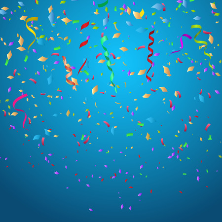eps10: Confetti background ideal for Christmas or birthdays