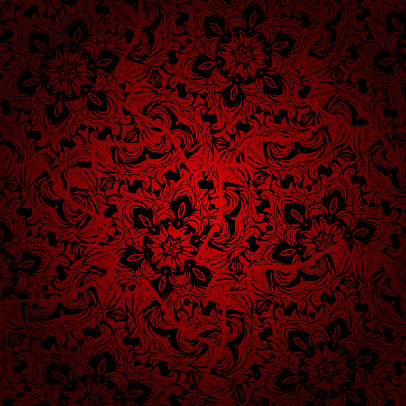 Abstract background with a floral design photo