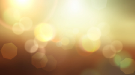defocussed: Abstract summer background with bokeh lights design Stock Photo