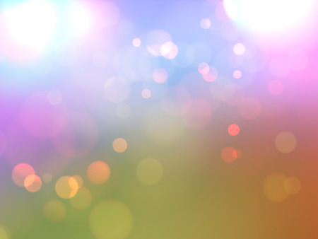 defocussed: Abstract bokeh lights background