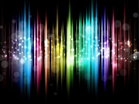spotlit: Abstract design background with sparkly lights