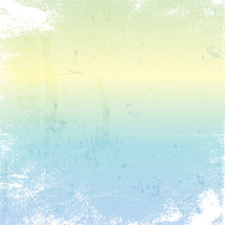 wallpaper  eps 10: Detailed grunge background with pastel colours Stock Photo
