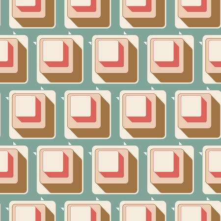 seamless tile: Seamless tile background with retro pattern