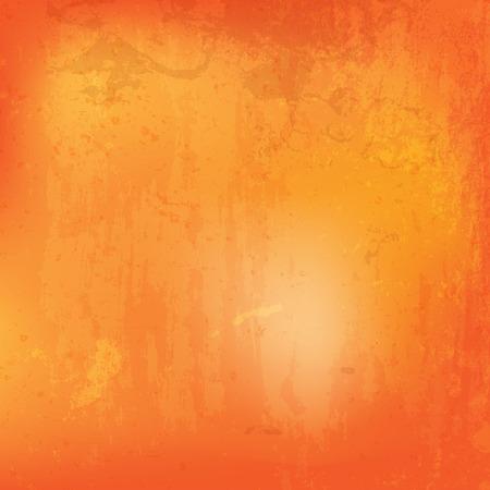 fundo grunge: Grunge fundo laranja detalhada