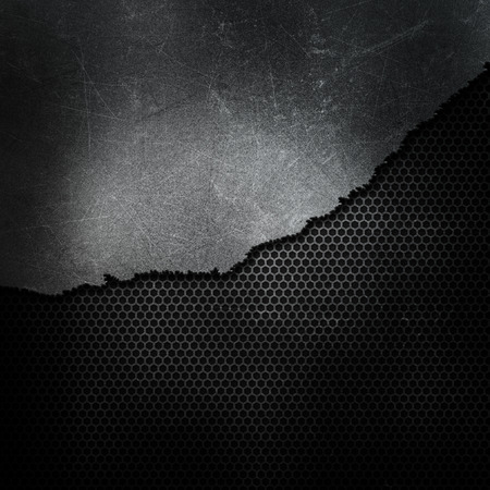 rivet: Grunge style cracked and broken metallic background