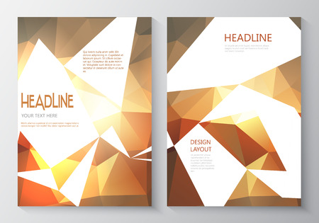 sided: Design template for double sided flyer