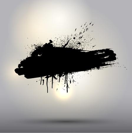 Detailed grunge splat background