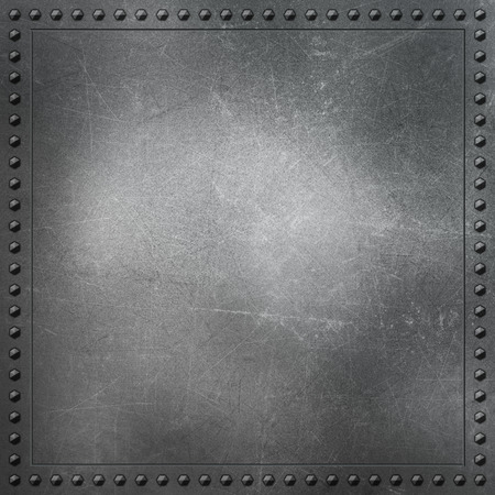 aluminium texture: Metallic background with scratches and stains Stock Photo