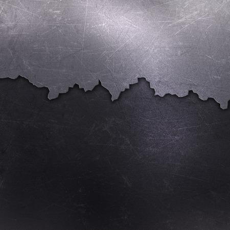 aluminium texture: Cracked grunge metallic background