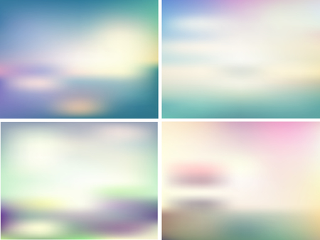overlay: Collection of retro coloured overlay backgrounds Stock Photo