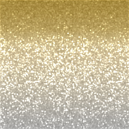 christmas lights background: Christmas background of gold glitter effect Stock Photo
