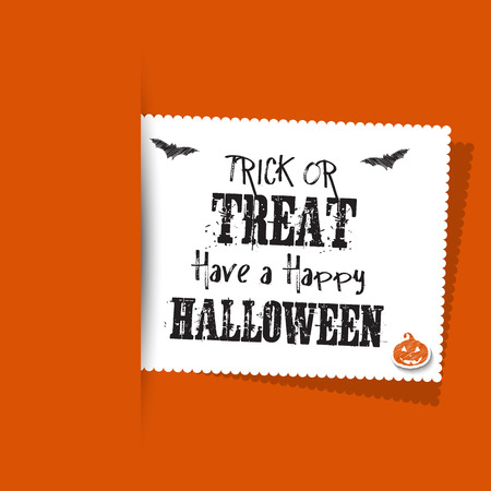 halloween message: Halloween background with label
