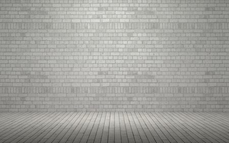 brick wall: 3d render of an Exposed brick wall Stock Photo