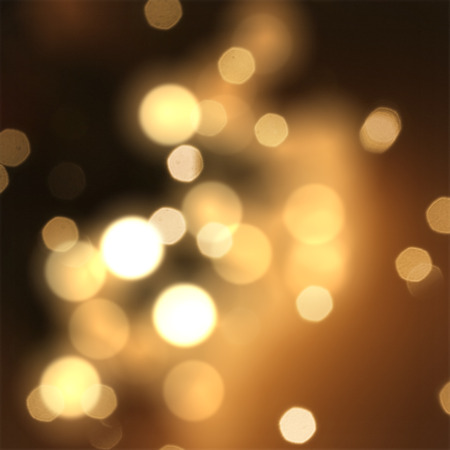 new year background: Christmas sparkle background with stars and bokeh lights