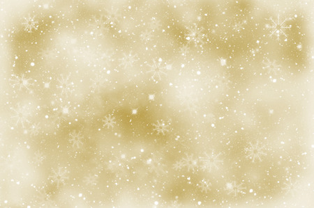 sparkly: Golden Christmas sparkly background with snowflakes
