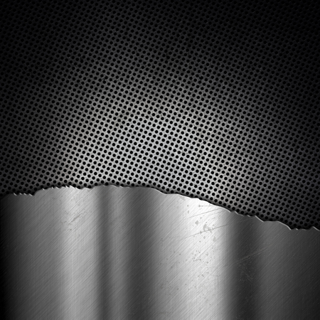metallic background: Anstract metallic background with a grunge effect