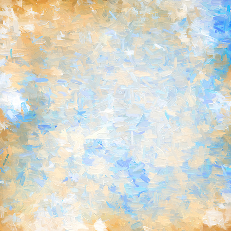 strokes: Grunge style background of oil paint strokes Stock Photo