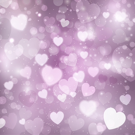 hearts background: Decorative hearts background for Valentines Day