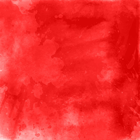 Red watercolour background - ideal for Valentine's Day