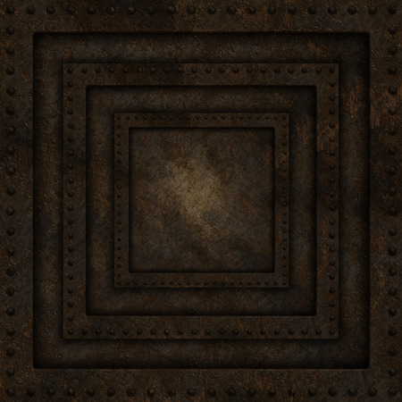 eroded: Abstract background with grunge metal texture Stock Photo