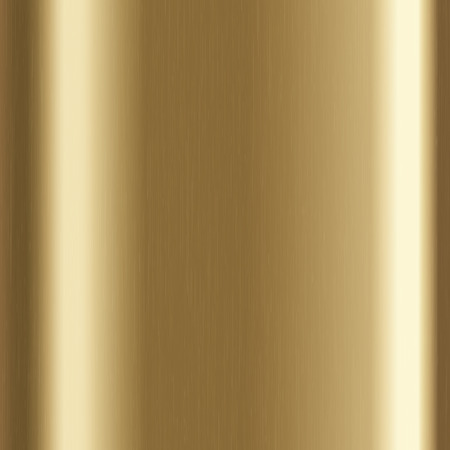 brushed metal: Background with gold brushed metal texture Stock Photo