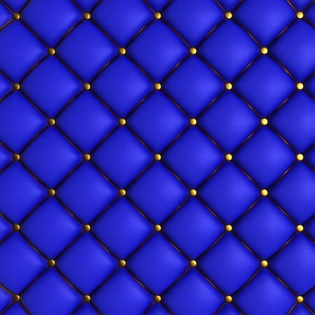 quilted: 3D Render of Quilted Leather Background
