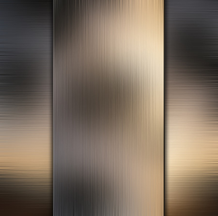 brushed: Abstract brushed metal background